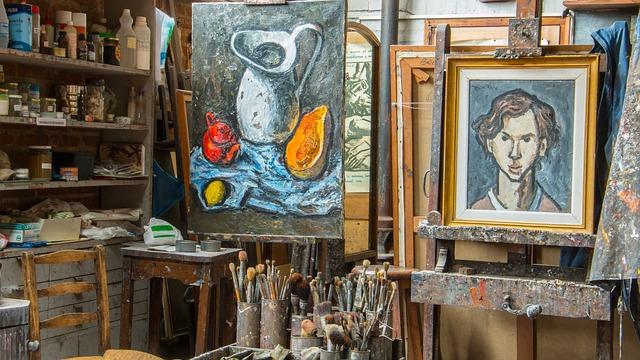 pokoj malíře
