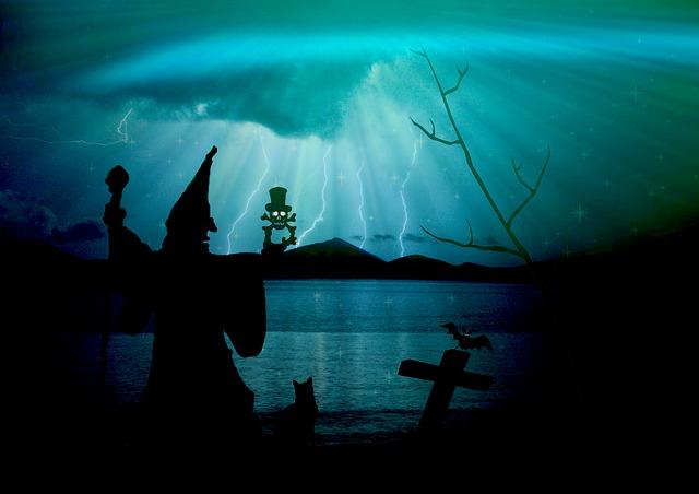 kouzelník v noci