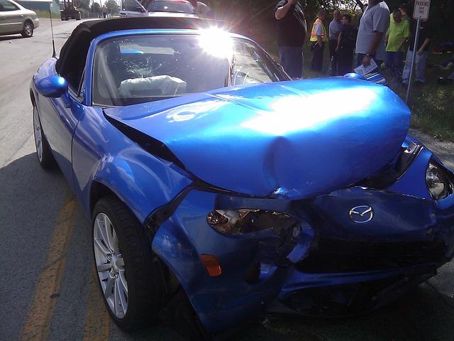 Havárie elektromobilov