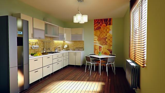 útulná kuchyň
