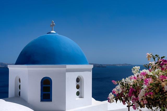 Oddych na Santorini